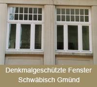 Denkmalschutzfenster erhalten