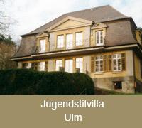 Fenster sind die Augen des Hauses Jugendstilvilla Ulm
