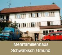 Fenstersanierung Fensterabdichtung Mehrfamilienhaus Schwäbisch Gmünd