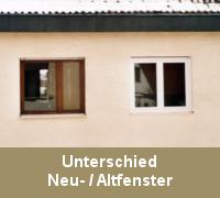 Fenstersanierung Fensterabdichtung Unterschied Neu- / Altfenster