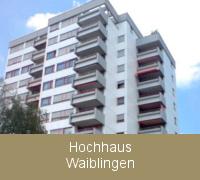 Fenstersanierung Fensterabdichtung Hochhaus Waiblingen