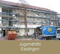 Fenstersanierung Fensterabdichtung Jugendhilfe Esslingen