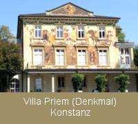 Fenstersanierung Fensterabdichtung im Denkmalschutz an der Villa Priem in Konstanz